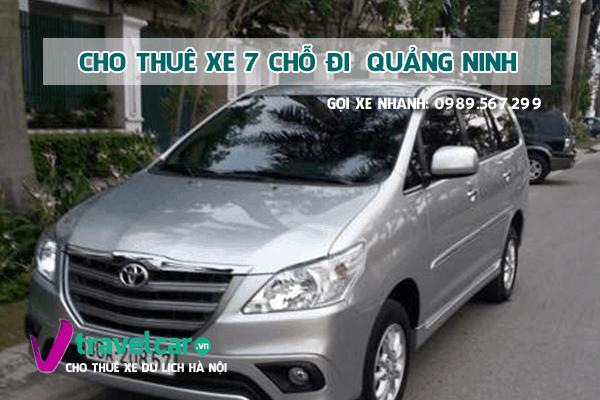 [TOP] Công ty cho thuê xe 7 chỗ đi Quảng Ninh giá rẻ tại hà nội