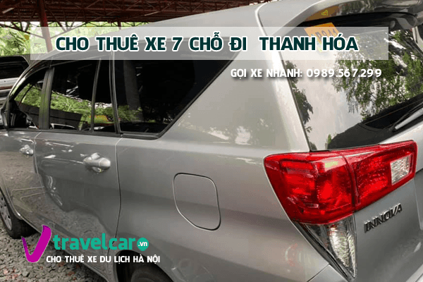 [TOP] Công ty cho thuê xe 7 chỗ đi Thanh Hóa giá rẻ tại hà nội