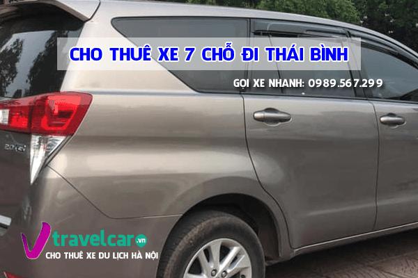 Công ty chuyên cho thuê xe 7 chỗ đi Thái Bình giá rẻ - uy tín tại hà nội.