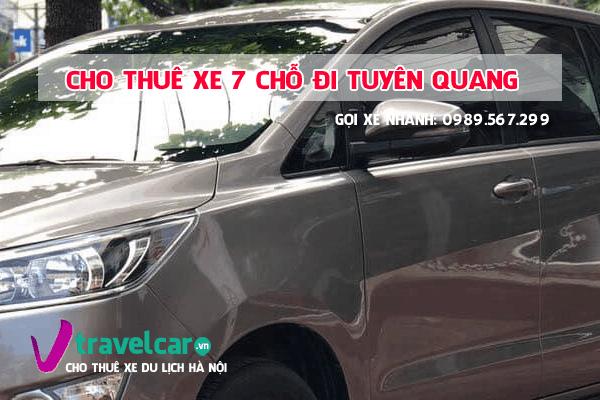 Công ty chuyên cho thuê xe 7 chỗ Hà Nội Tuyên Quang với mức giá tốt nhất