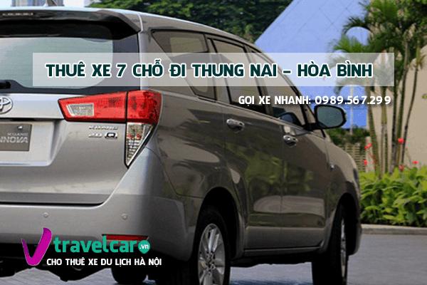 Công ty chuyên cho thuê xe 7 chỗ đi Thung Nai giá rẻ tại hà nội.