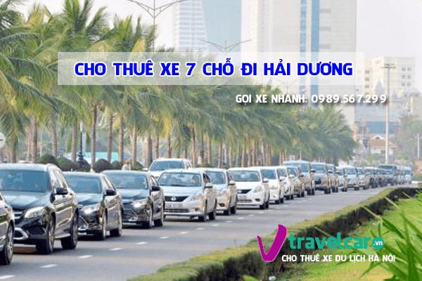 Cho thuê xe 7 chỗ đi Hải Dương