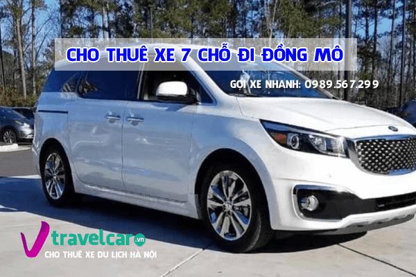 Công ty chuyên cho thuê xe 7 chỗ đi khu du lịch Đồng Mô giá rẻ tại hà nội.