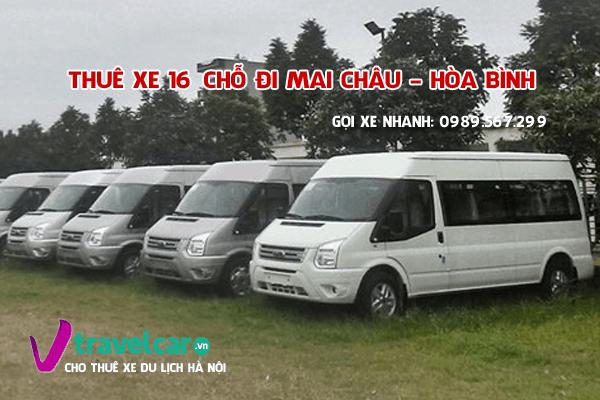 Bảng giá và dịch vụ thuê xe 16 chỗ đi Mai Châu giá rẻ tại hà nội