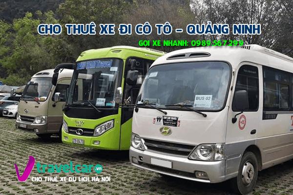 Bảng giá và dịch vụ thuê xe 29 chỗ đi Cô Tô giá rẻ tại Hà Nội