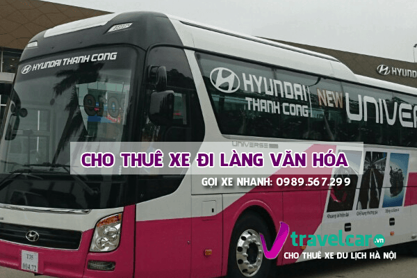 Chuyên cho thuê xe đi làng văn hóa các dân tộc việt nam(Ba Vì) giá rẻ tại Hà Nội.