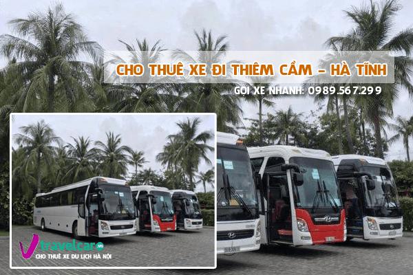 Chuyên cho thuê xe đi du lịch biển Thiên Cầm(Hà Tĩnh) giá rẻ tại Hà Nội.