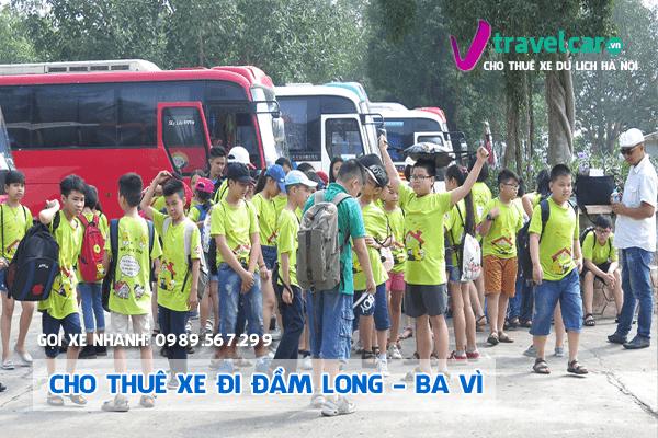 Công ty Nắng Vàng chuyên cho thuê xe đi Đầm Long giá rẻ tại Hà Nội.