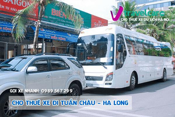 Bảng giá và dịch vụ thuê xe đi Tuần Châu 4-45 chỗ giá rẻ tại hà nội
