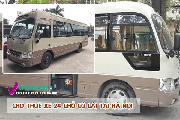 Công ty chuyên cho thuê xe du lịch 24 chỗ có lái tại hà nội