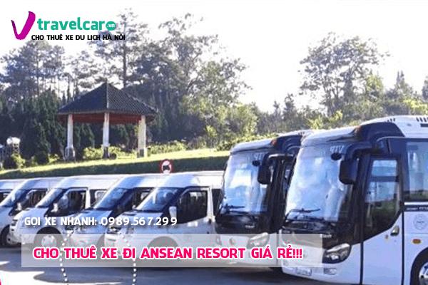 Bảng giá và dịch vụ thuê xe đi Asean Resort 4-45 chỗ giá rẻ tại hà nội