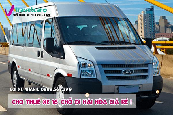 Bảng giá và dịch vụ thuê xe 16 chỗ đi Hải Hòa(Tĩnh Gia) giá rẻ nhất