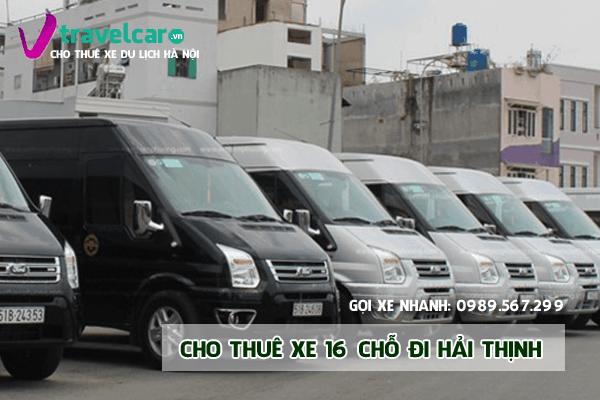 Bảng giá và dịch vụ thuê xe 16 chỗ đi Hải Thịnh (Nam Định) giá rẻ nhất