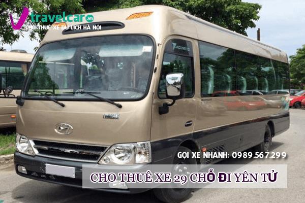 Công ty chuyên cho thuê xe 29 chỗ đi Yên Tử - Quảng Ninh giá rẻ tại hà nội.