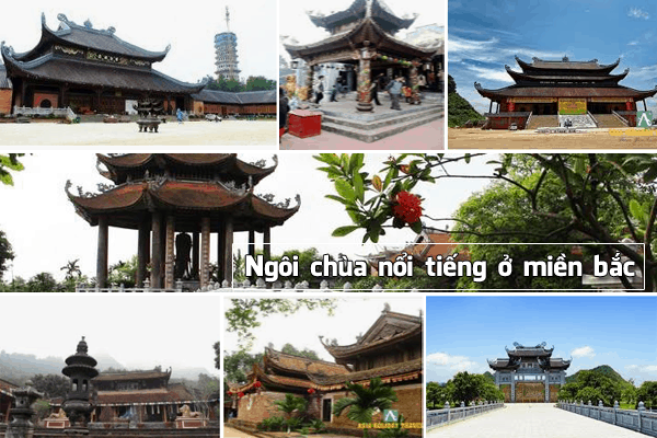 Các ngôi chùa nổi tiếng ở miền Bắc