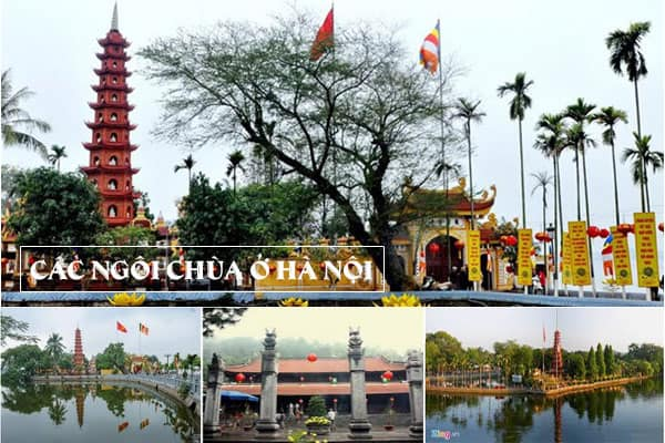 Những ngôi chùa ở Hà Nội nổi tiếng linh thiêng   Travelcar.vn