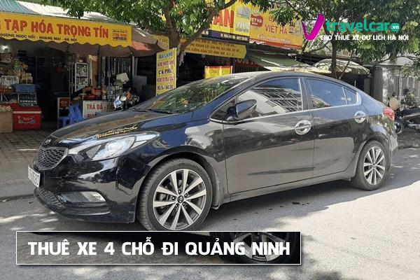 Dịch vụ cho thuê xe 4 chỗ đi Quảng Ninh giá rẻ tại hà nội