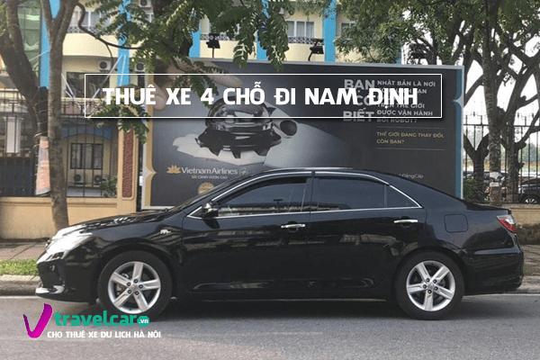 Dịch vụ cho thuê xe 4 chỗ đi Nam Định giá rẻ tại hà nội
