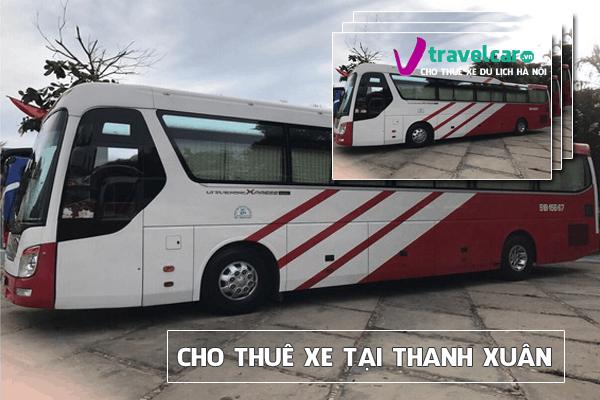 Cho thuê xe 4-45 chỗ tại Thanh Xuân ⭐⭐⭐⭐⭐ ✓Giá Tốt Nhất Hà Nội