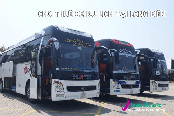 Công ty chuyên cho thuê xe du lịch 4-45 chỗ tại quận Long Biên, Hà Nội