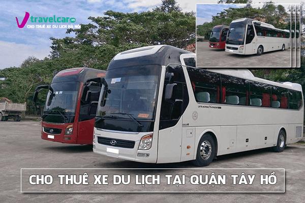 Công ty chuyên cho thuê xe du lịch ở quận Tây Hồ, Hà Nội
