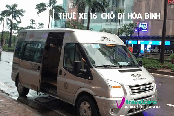 Công ty chuyên cho thuê xe du lịch 16 chỗ đi Hòa Bình tại Hà Nội