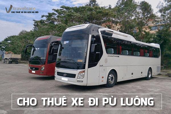 Công ty chuyên cho thuê xe đi du lịch Pù Luông giá rẻ tại Hà Nội