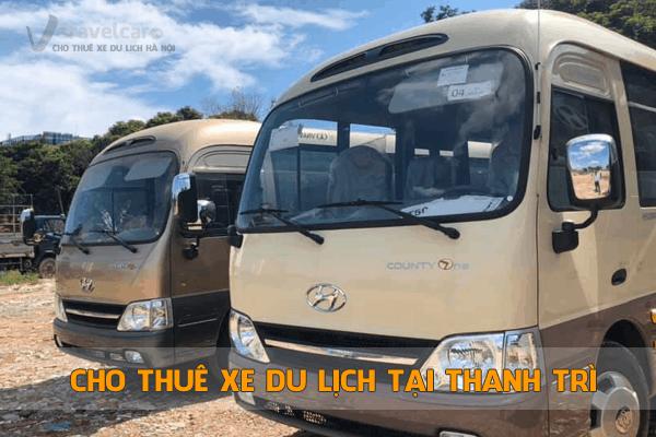 Cho thuê xe du lịch tại Thanh Trì 4-45 chỗ giá rẻ nhất