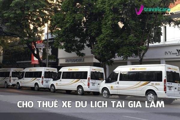 Cho thuê xe du lịch 4-45 chỗ tại huyện Gia Lâm, Hà Nội