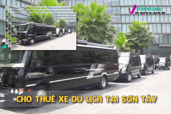 Cho thuê xe du lịch 4-45 chỗ tại Sơn Tây, Hà Nội