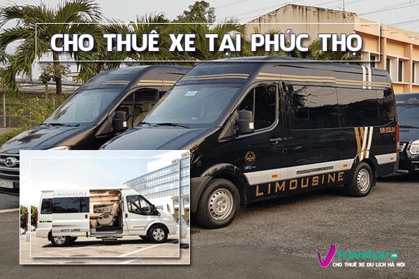Cho thuê xe du lịch 4-45 chỗ tại huyện Phúc Thọ, Hà Nội