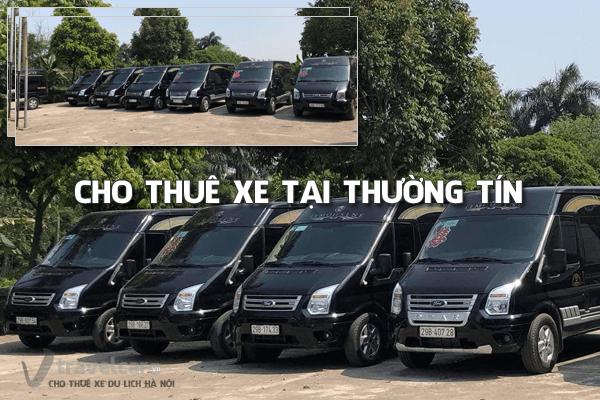 Cho thuê xe du lịch 4-45 chỗ tại huyện Thường Tín, Hà Nội