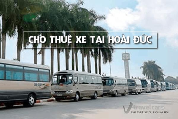 Cho thuê xe du lịch 4-45 chỗ tại huyện Hoài Đức, Hà Nội