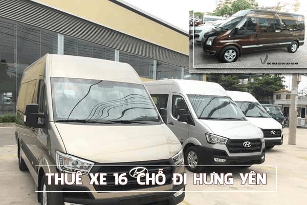 Công ty cho thuê xe du lịch 16 chỗ đi Hưng Yên giá rẻ tại hà nội
