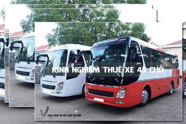 Kinh nghiệm thuê xe 45 chỗ | Travelcar.vn