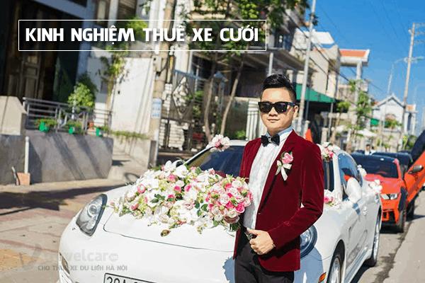 Kinh nghiệm thuê xe cưới