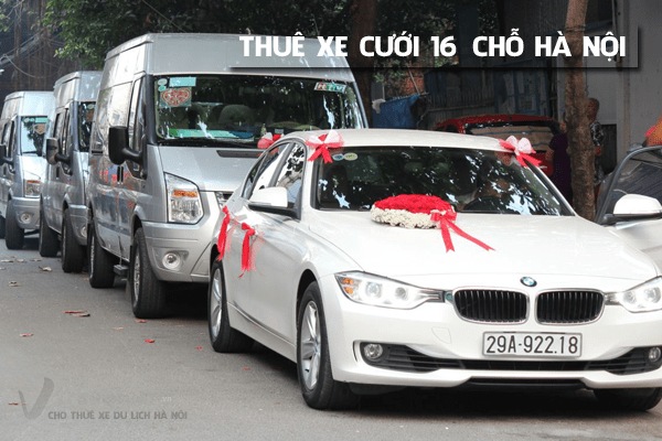 Dịch vụ thuê xe Cưới 16 chỗ uy tín - giá rẻ tại Hà Nội