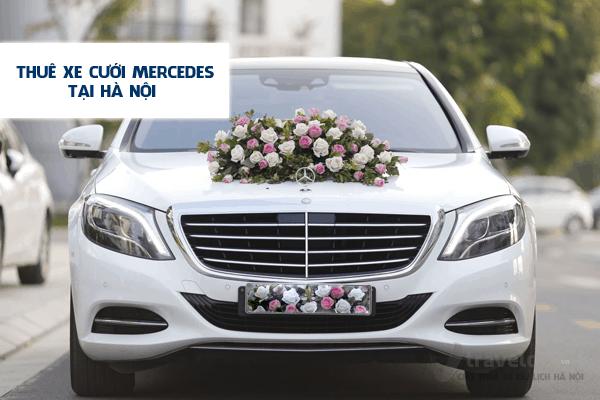 Dịch vụ cho thuê xe cưới MERCEDES uy tín - giá rẻ tại hà nội