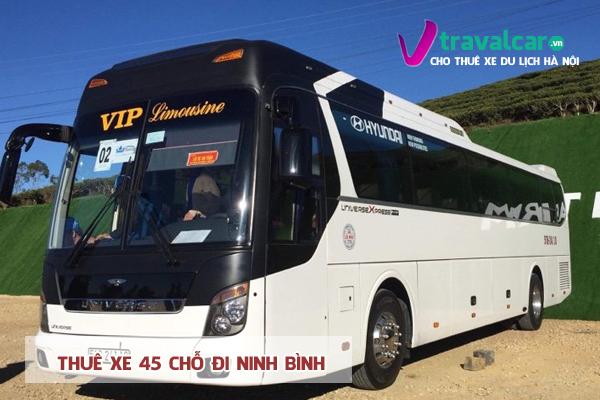 Dịch vụ cho thuê xe 45 chỗ đi Ninh Bình giá rẻ tại Hà Nội