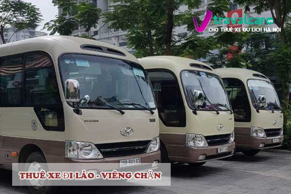 Xe đi Lào, Viêng Chăn 4-45 chỗ giá rẻ tại Hà Nội