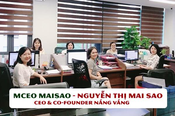 Mceo Maisao - Nguyễn Thị Mai Sao | CEO & Co-founder Nắng Vàng