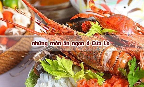 Những món ăn đặc biệt hấp dẫn ở vùng biển Nghệ An
