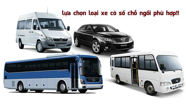 Lựa chọn loại xe phù hợp với mục đích chuyến du lịch