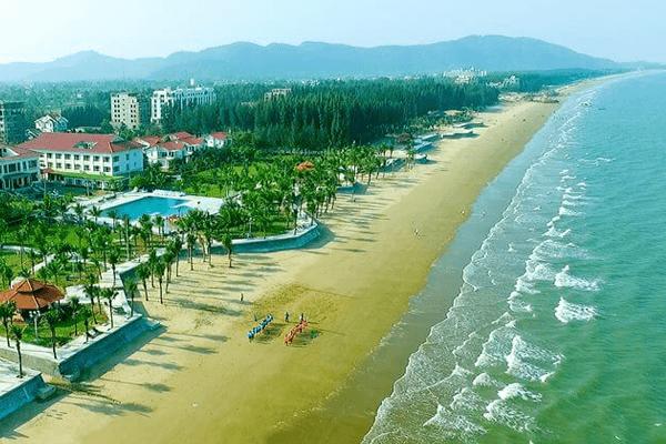 Khu du lịch biển Hải Tiến - Thanh Hóa. Ảnh st
