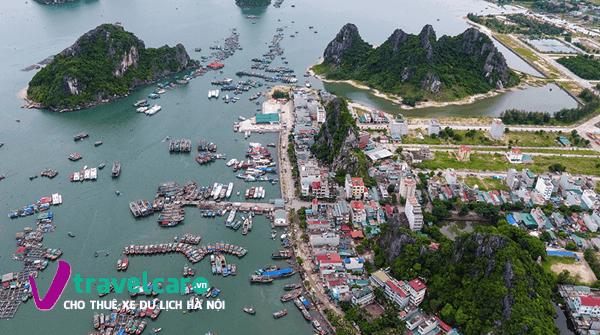 Toàn cảnh khu vực cảng Cái Rồng
