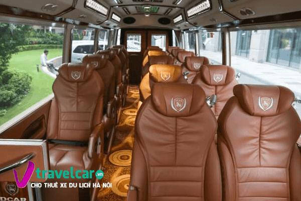 Hệ thống ghế ngồi và không gian mang đẳng cấp châu Âu