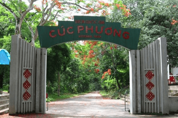 Cổng vào vườn Quốc gia Cúc Phương