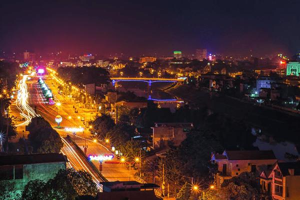 Trung tâm thành phố Lạng Sơn. Ảnh st