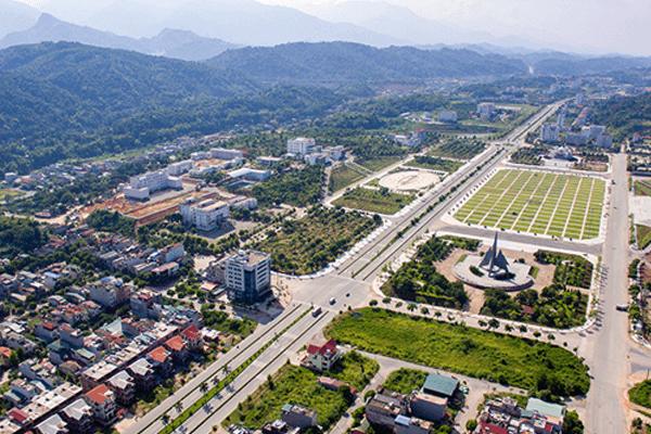 Trung tâm thành phố Lào Cai. Ảnh st