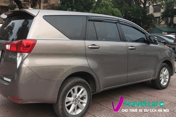 Vẻ ngoài hiện đại, sang trọng của dòng xe Toyota Innova 2019.